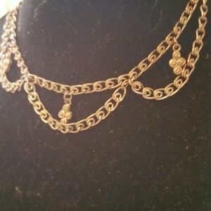Brownish Chain with beading